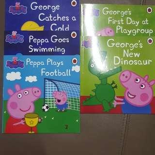 Peppa pig book  RM6 each