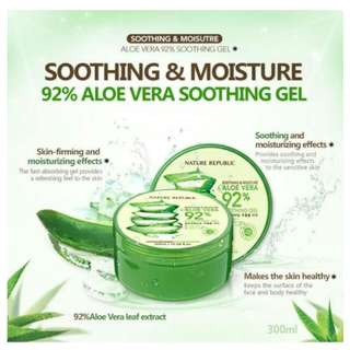 Aloe Vera Shooting Gel 92% Nature Republic