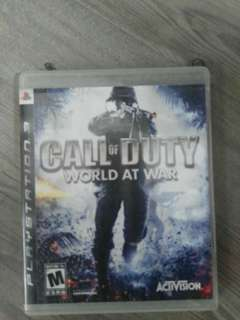 Call Of Duty :World At War