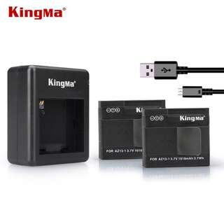 ORI kingma Xiaomi Yi dual charger + 2 battery