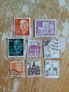 歐洲郵票  已銷郵票