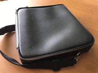 Louis Vuitton leather computer Bag