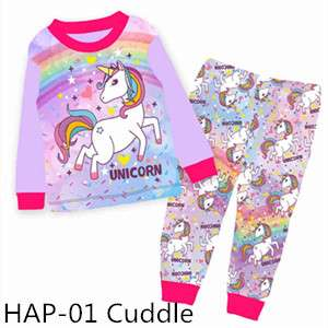 Unicorn Long sleeve Pajamas HAP01