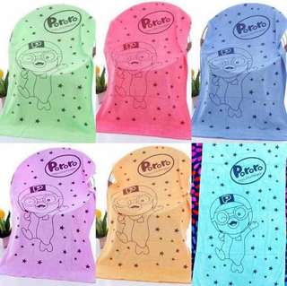 Cartoon Towels(1 set 6pcs)