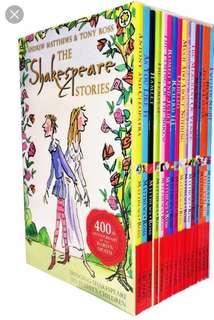 BRAND NEW the Shakespeare Stories Boxset