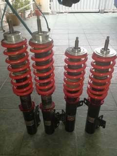 Toyota Camry acv30 HLSH adjustable absorber