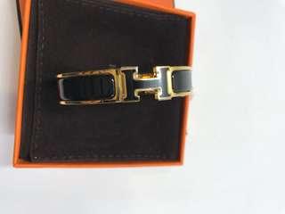 Hermes Bracelet H 塘瓷扣 全新購自巴黎