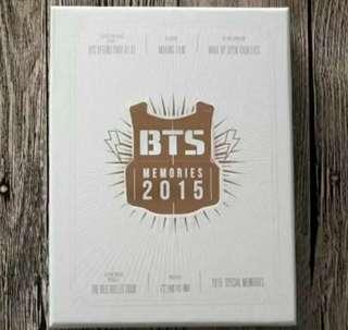 Bts bts BTS防彈少年團memorius in 2015簽名專輯