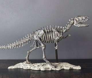 T Rex dinosaur fossil replica