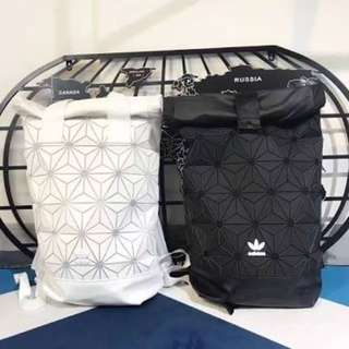 Adidas Original 3D Mesh Roll Up sports backpack bag