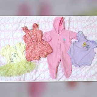 TAKE ALL!! Baby girl Clothes #3 (0-3mos)