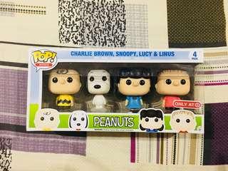 Funko Pop Peanuts Minis 4 Pack