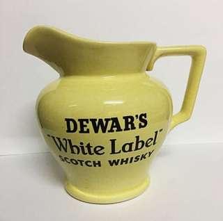 Dewar's White Label Scotch Whisky Jug