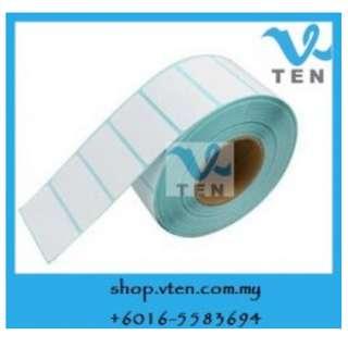30x20mm Thermal Barcode Label Sticker GST 1000pcs/rollx5 Rolls