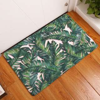 Tropical Print Floormat