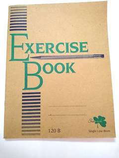 Exercise book 120b