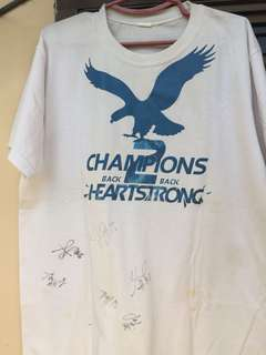 Ateneo Championship Shirt with Players' Signatures