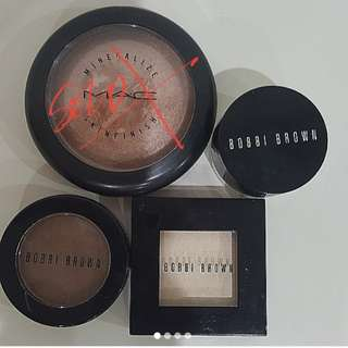 Bobbi Brown & M.A.C make up