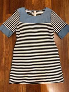 Stripe Casual Dress from Boutique, Size M