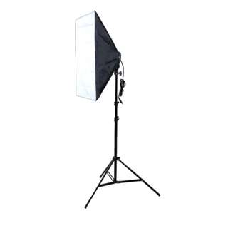 50*70CM Photography Studio Softbox Lamp Holder with E27 Socket for Studio Continuous Lighting