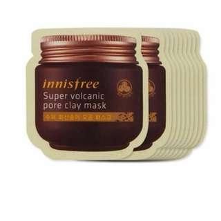 INNISFREE Super Volcanic Pore Clay Mask 4ml.