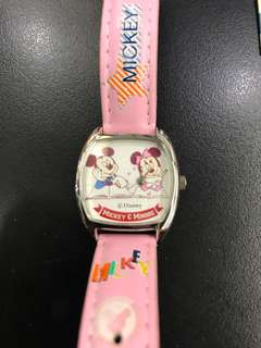 Mickey Mouse Watch (ori) clear stock