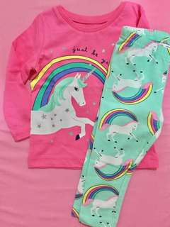 Unicorn set (Legging and Jersey tee)