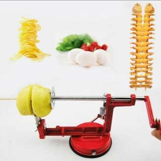 Easy Manual Stainless Steel Potato Twisted Spiral Slicer