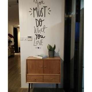 Wording Wall Home Decor/Decoration/Decal/Wallpaper/Sticker