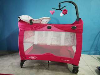 Graco Contour Vibe Play pen Cot