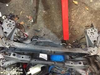 Honda Fit ge6 rear excel