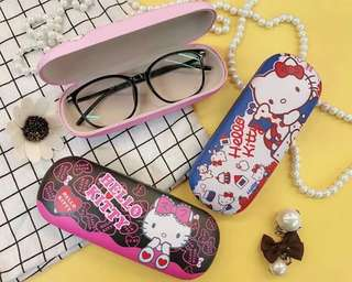 Hellokitty Glasses Case  -Size:6 inches