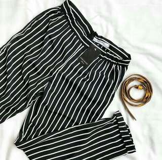 Zara Stripe Pants Under 100rb