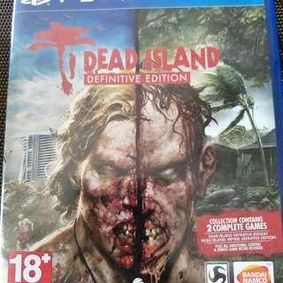 PS4 DEAD ISLAND DIFINITIVE EDITION