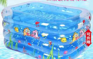Inflatable Baby Pool (4 layer)