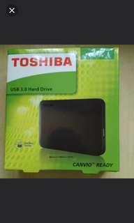 Unbox Toshiba Hardisk 1 T