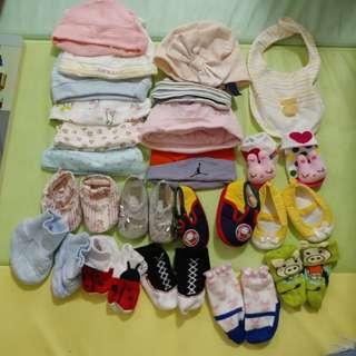 Bb帽, bb 鞋, bb襪