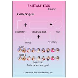 [PO] Fantasy Time TWICELAND2in SG FANPACK