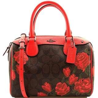 Coach mini bennett bag