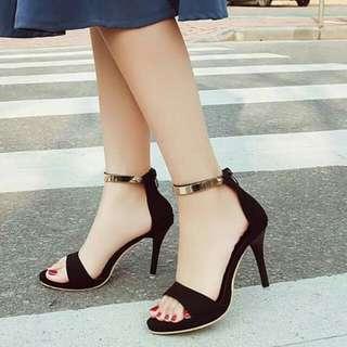 Poited heel
