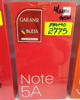 Promo xiaomi Note 5A