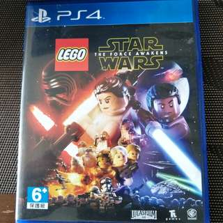 PS4 STAR WARS THE FORCE AWAKENED