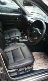 BMW 520I 2000cc TAHUN 1991 SUDAH PAKAI RANTAI TIDAK TIMING BELT LAGI