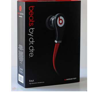 Authentic Beats by dr.dre Tour - NEW Sealed - Wired in-ear