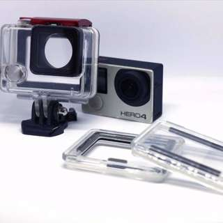 GoPro Hero 4 (With extra 3 battery & charging dock & storage box)