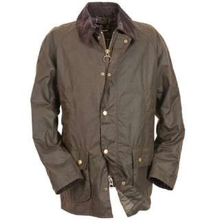 Barbour Ashby Wax Jacket Made in England Size L brand new
