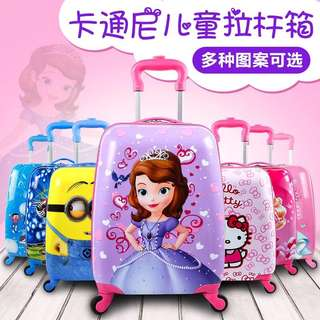 Free delivery kids luggage