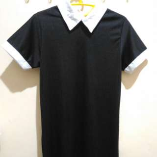 🌸 SALE 50.000 dress colar black