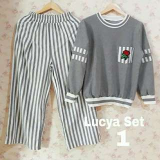 Lucka set + celana