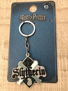 Brand New Auth Harry Potter Slytherin Keychain